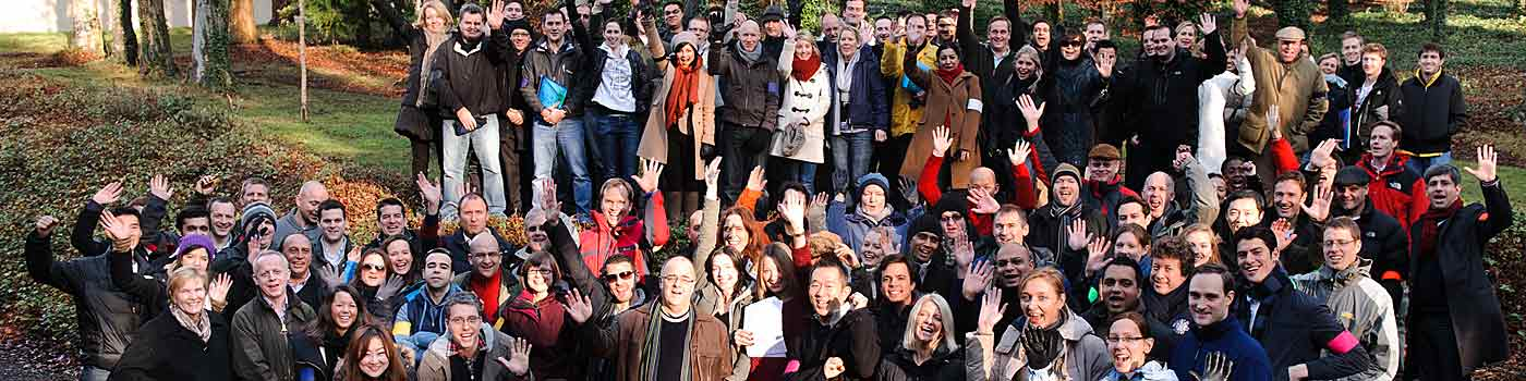 DC Events - a large group of happy participants